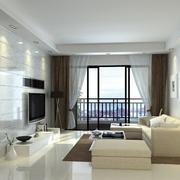 120平米宜家简欧风格客厅装修效果图