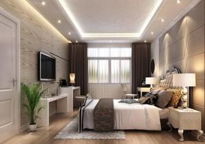 100平米现代舒适的房屋卧室装修效果图鉴赏