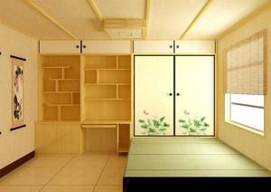 休闲舒适小户型家装室内榻榻米装修效果图