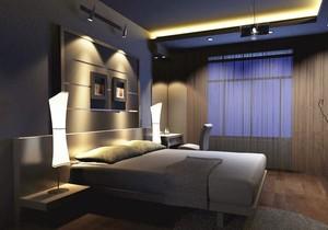 自建别墅欧式卧室背景墙装修效果图鉴赏