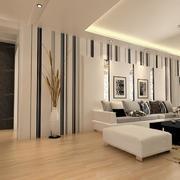 时尚都市大户型欧式沙发背景墙装修效果图