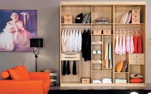 欧式大户型室内实木衣柜装修效果图鉴赏