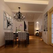 2016欧式公寓式住宅餐厅装修效果图鉴赏