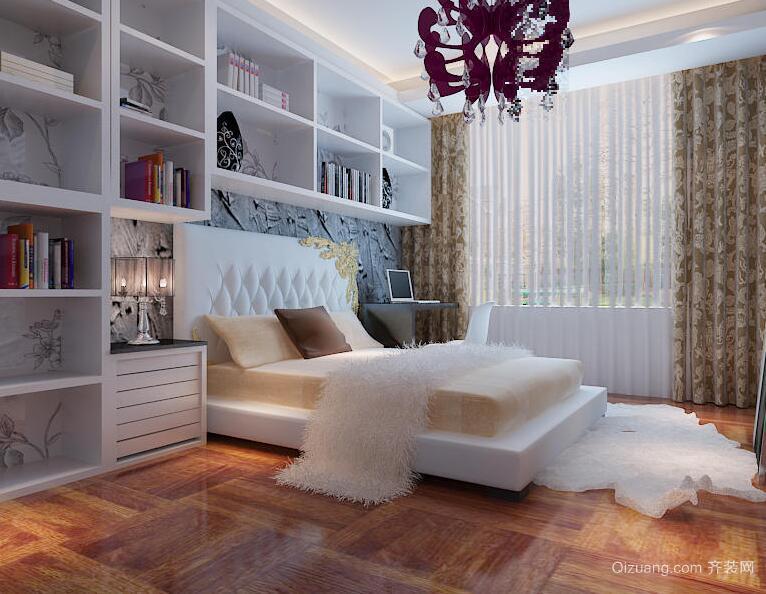 欧式小户型装修卧室装修设计效果图鉴赏