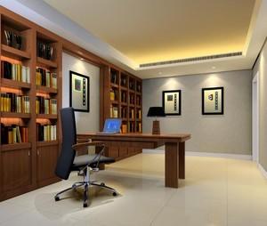 2016唯美大方的现代书房书柜效果图鉴赏