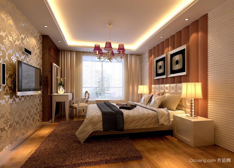 精致的大户型欧式风格家庭卧室装修效果图