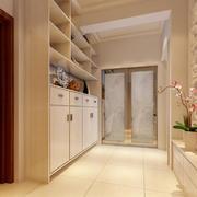 现代欧式别墅型时尚鞋柜装修效果图实例