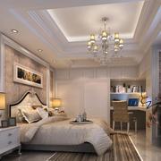 唯美的欧式风格大户型卧室衣柜装修效果图