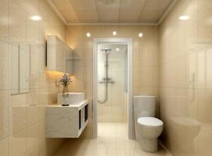 现代欧式小户型卫生间装修效果图鉴赏