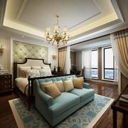 精美的欧式小户型卧室装修效果图实例