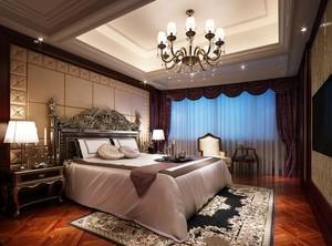 2016单身公寓欧式卧室设计装修效果图