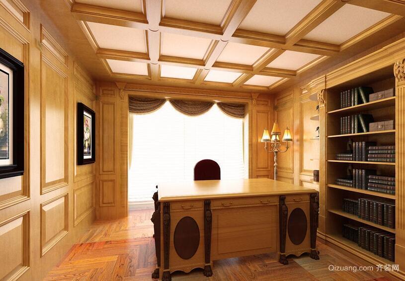 2016别墅型现代室内书房装修效果图鉴赏