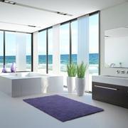 清新的浴室图
