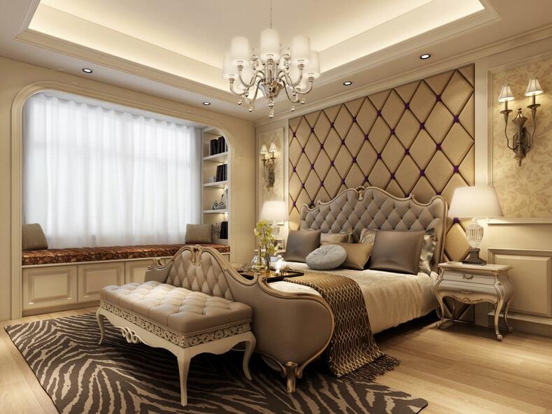 欧式卧室唯美设计