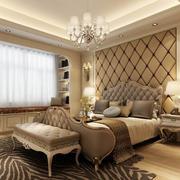 90平米大户型简欧风格卧室装修效果图实例