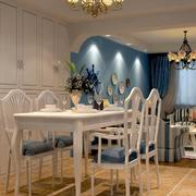 80平米大户型欧式风格餐厅装修效果图鉴赏