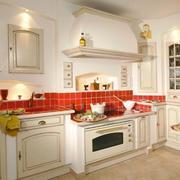 时尚的厨房整体图