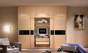 经典的现代欧式大户型室内衣柜装修效果图