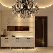 90平米室内欧式鞋柜装修效果图实例