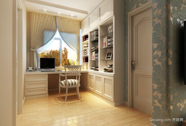 经典的现代都市大户型书房室内装修效果图