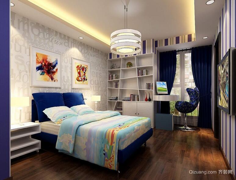 现代室内大户型经典的儿童房装修效果图