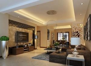 100平米欧式别墅型客厅吊顶装修效果图