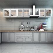 都市小户型欧式厨房装修效果图实例