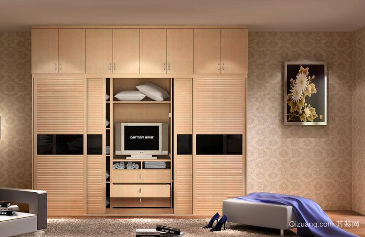 欧式经典的别墅型室内衣柜装修效果图