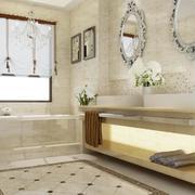 欧式极美的大户型精致卫生间装修效果图