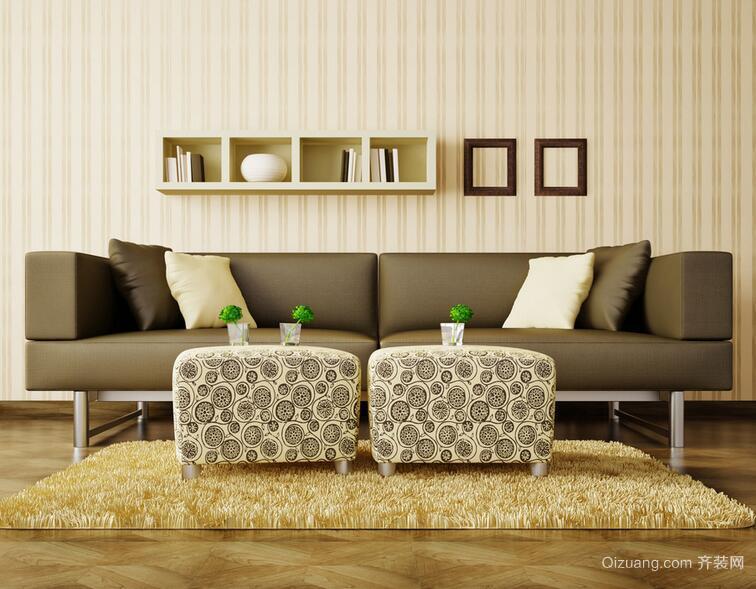 90平米精致的大户型欧式客厅装修效果图