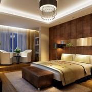 唯美的欧式大户型卧室设计装修效果图