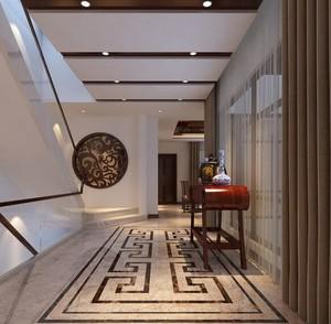 欧式别墅型现代走廊吊顶装修效果图鉴赏