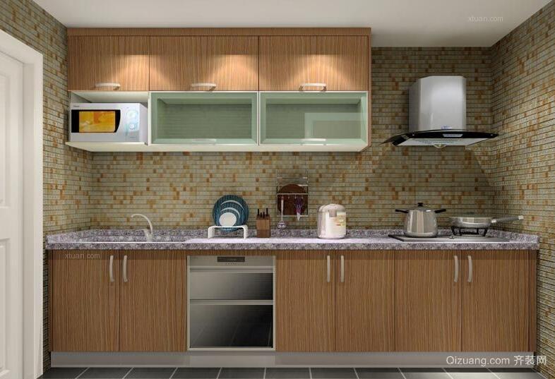 现代欧式精致的大户型厨房装修效果图鉴赏