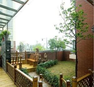 自建别墅精美的欧式阳台装修效果图实例