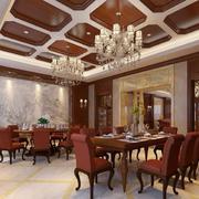 别墅型精致欧式风格室内吊顶装修效果图鉴赏