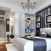 经典单身公寓欧式卧室设计装修效果图
