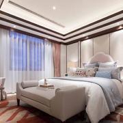 100平米大户型精致华丽中式卧室装修效果图