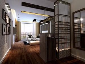 欧式小户型客厅电视背景墙装修效果图实例