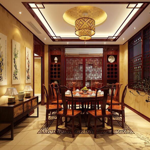 精致的中式风格餐厅