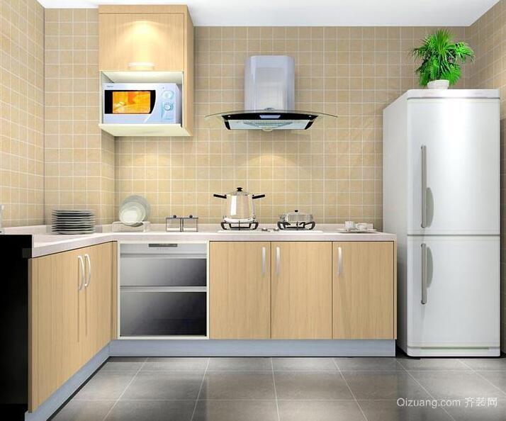 欧式经典的大户型厨房装修效果图鉴赏