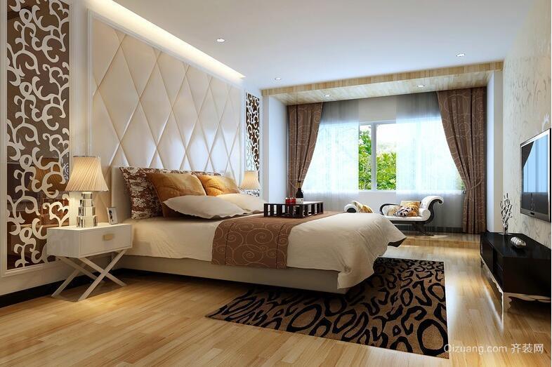 欧式小户型卧室背景墙装修效果图实例