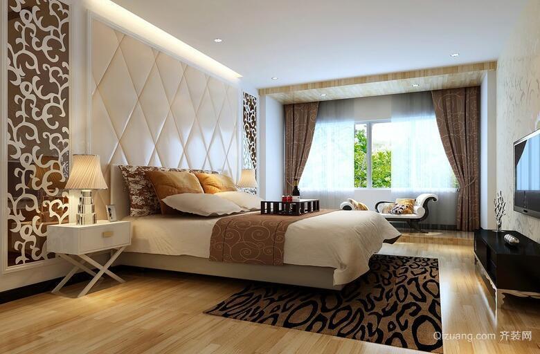 欧式经典的大户型卧室吊顶设计装修效果图