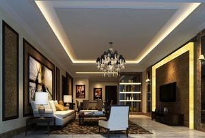 精致的欧式小户型客厅装修设计效果图
