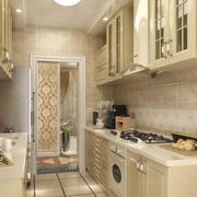 2016别墅型精美简欧风格厨房装修效果图