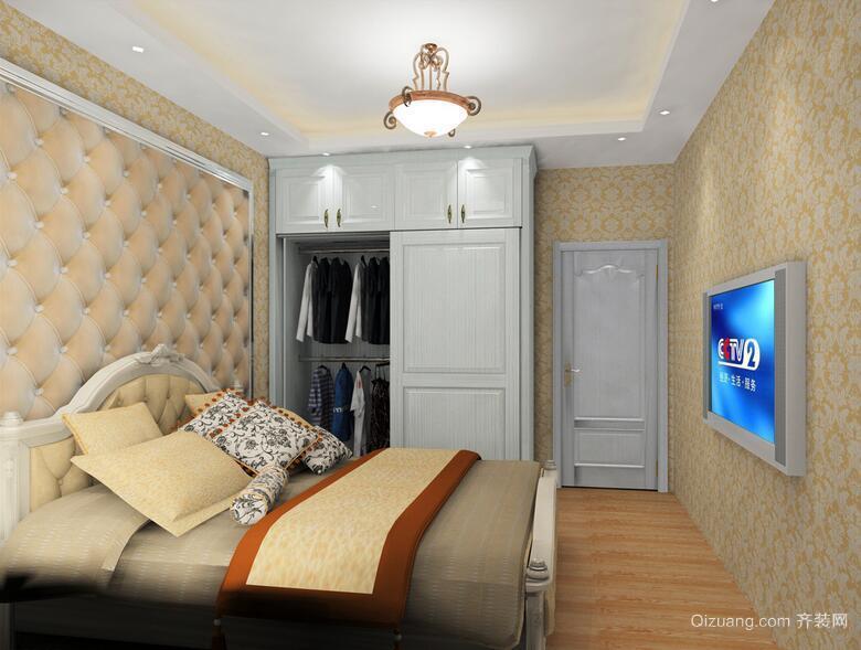 100平米现代欧式室内整体衣柜装修效果图