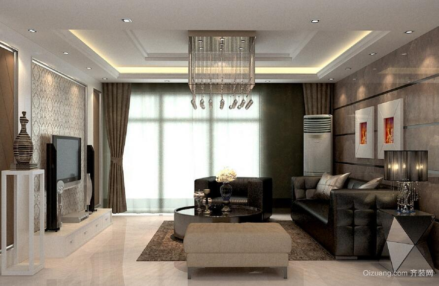 经典的欧式小户型客厅装修效果图实例