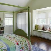 单身公寓北欧风格飘窗装修效果图实例