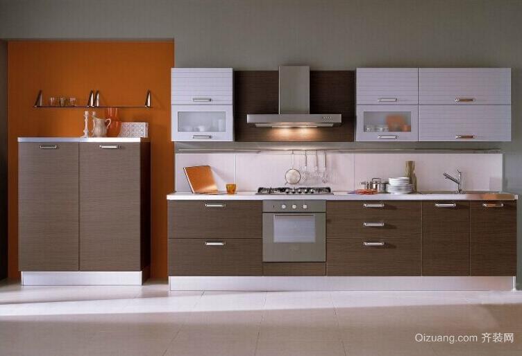 欧式经典的大户型厨房橱柜装修效果图鉴赏