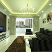 经典欧式风格大户型客厅装修效果图鉴赏
