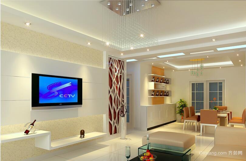 超越经典的小户型简欧风格客厅装修效果图欣赏